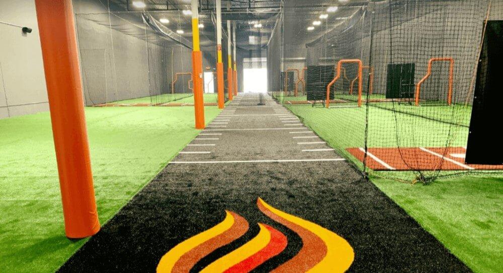 indoor hitting facility