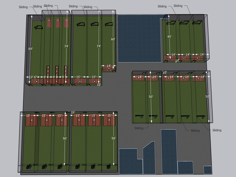 hitting facility design plans